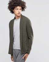 Weekday Jab Boiled Wool Cardigan