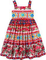 Dolce & Gabbana Printed Maiolica sundress