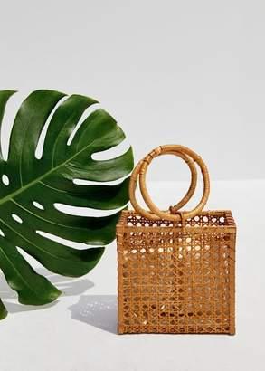 MANGO Bamboo basket bag