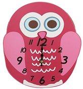 Childrens/Kids Owl Design Duo Clock (One Size) (Owl)
