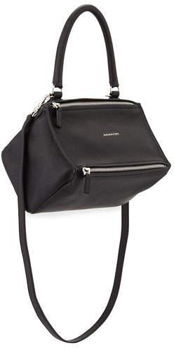 Givenchy Pandora Small Sugar Satchel Bag, Black