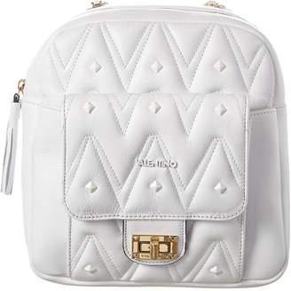 Mario Valentino Valentino By Balzac D Sauvage Studs Leather Backpack
