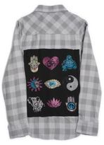 Butter Shoes Girl's Printed Shirt