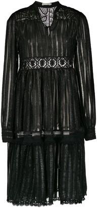 Martha Medeiros Striped Dress