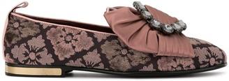 Dolce & Gabbana Jacquard Slippers