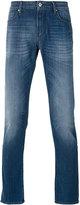 Armani Jeans folded hem skinny jeans - men - Cotton/Spandex/Elastane - 31