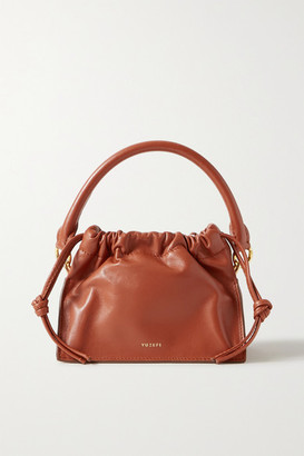 Yuzefi Bom Mini Leather Tote - Tan