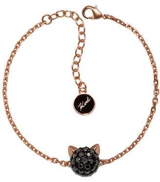 Karl Lagerfeld Paris Crystal Choupette Bracelet