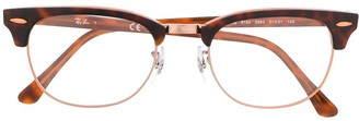 Ray-Ban Oversized Tortoiseshell Glasses