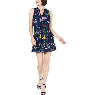 Laundry by Shelli Segal Women's Floral Tiered Dress