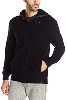 Calvin Klein Jeans Men's Faux Sherpa Hoodie Sweater