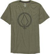 Volcom Pin Line Stone Slim T-Shirt - Men's , XL