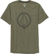 Volcom Pin Line Stone Slim T-Shirt - Short-Sleeve - Men's , XL