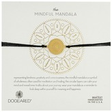 Dogeared Mindful Mandala Center Square Silk Bracelet