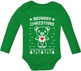 TeeStars Bearry Christmas Ugly Xmas Sweater Cute Unisex Bodysuit Baby Long Sleeve Onesie