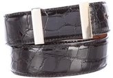 Calvin Klein Collection Alligator Waist Belt