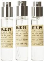 Le Labo Baie 19 Eau De Parfum Travel Tube Refill 3 X 10ml
