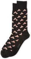 Hot Sox Pizza Socks
