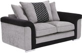 Carrara Fabric 2 Seater Scatter Back Sofa