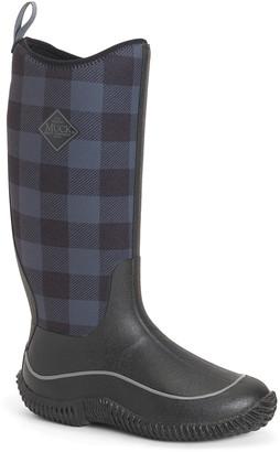 The Original Muck Boot Company Women's Rain boots BLK - Black Plaid Hale Rain Boot - Women