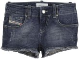 Diesel 'Pniza' Denim Shorts (Kids) - Indigo-10 Years