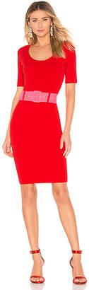 Milly Belted Fitted Sheath Dress