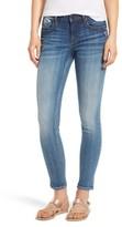 Vigoss Women's Jagger Embriodered Skinny Jeans