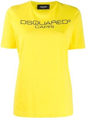 DSQUARED2 Capri print T-shirt
