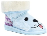Muk Luks Kids' Bosco Blue Puppy Boot Toddler/Preschool