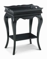 CLOSEOUT! Midnight Black Tray Table