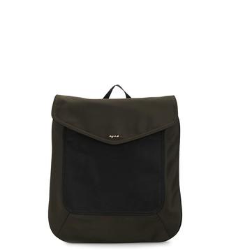 agnès b. Colour-Block Nylon Backpack