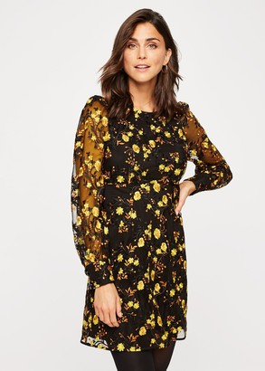 Phase Eight Lovell Floral Embroidered Dress