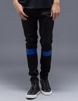 Undercover Striped Knee Chino Pants