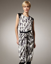 Rachel Roy Printed Cascade Skirt