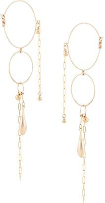 Petite Grand Multi Layer hoop earrings