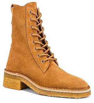 Chloé Edith Ankle Boots in Tan