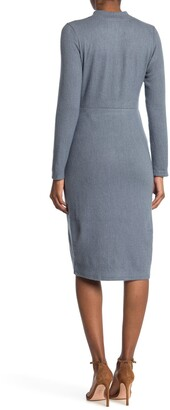 Collective Concepts Long Sleeve Knit Dress