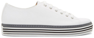 Paul Smith White Canvas Sotto Sneakers