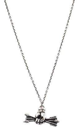 Pamela Love Hand & Arrow Pendant Necklace