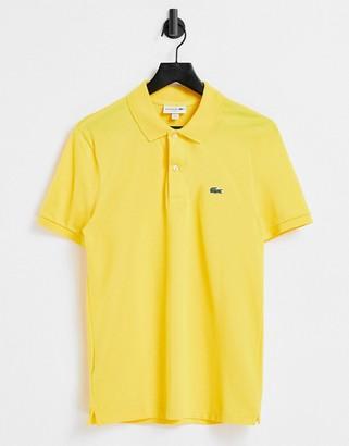 Lacoste logo polo in yellow