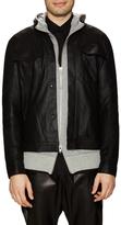 Helmut Lang Trucked Leather Jacket