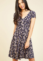 Traveling Treat Floral Dress in L
