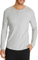 Bonds Rib Henley Long Sleeve Tee