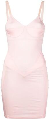 Seen Users Panelled Mini Dress