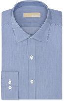 MICHAEL Michael Kors Men's Slim-Fit Non-Iron Twill Stripe Dress Shirt