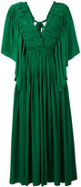 Rochas pleated dress - women - Silk - 46