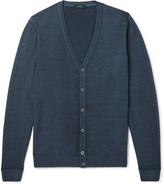 Incotex - Garment-dyed Wool Cardigan