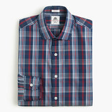 Thomas Mason for J.Crew Ludlow shirt in blue plaid