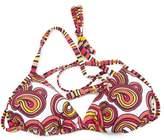 Speedo Clearance Ladies/Womens Swirl Pattern Swim Wear Bikini Top