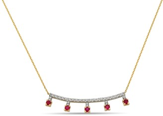 Aria Ruby Necklace